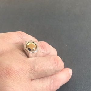 Tiffany & co Elsa Peretti Esagano ring